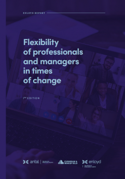 Flexibility of professionals and managers in times of change