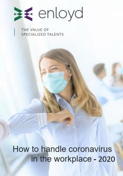 How to handle coronavirus in the workplace